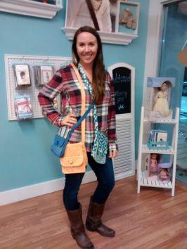 ashley-modeling-purses